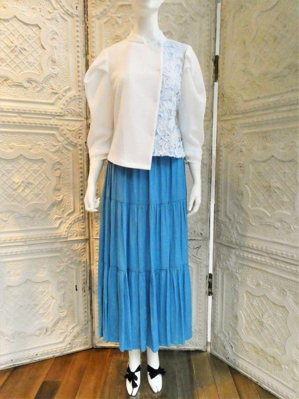 画像1: ライトゼロサテン(2) スカート (1)
